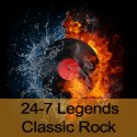 24-7 Legends Classic Rock logo