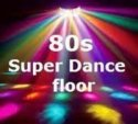 80S SUPER DANCE FLOOR logo